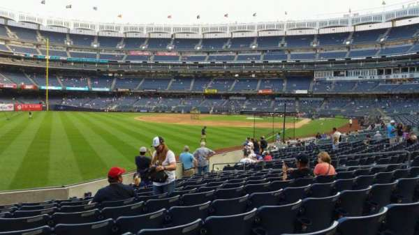 Yankee Stadium, section: 131, row: 13, seat: 16