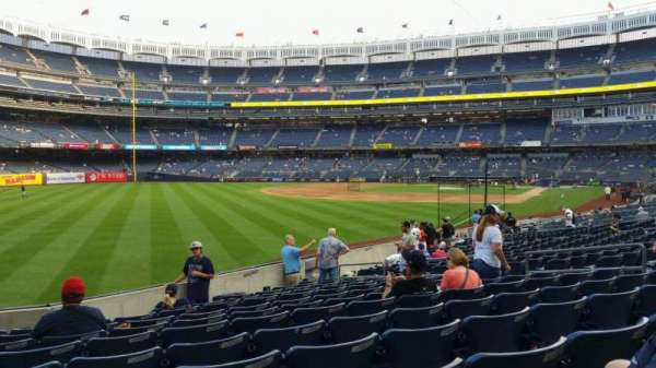 Yankee Stadium, section: 131, row: 13, seat: 13