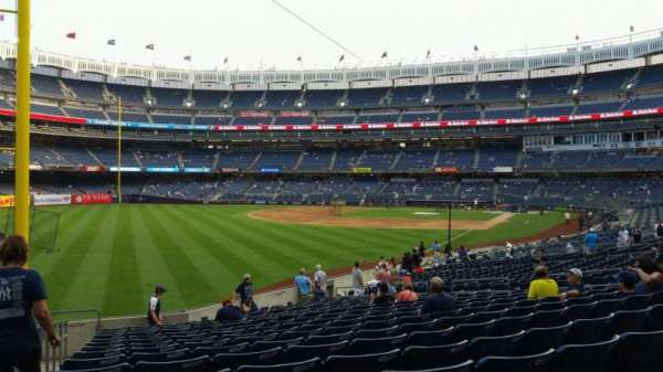Yankee Stadium, section: 131, row: 19, seat: 21