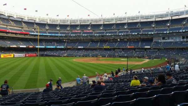 Yankee Stadium, section: 131, row: 19, seat: 18
