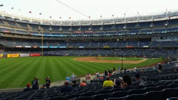Yankee Stadium, section: 131, row: 19, seat: 15
