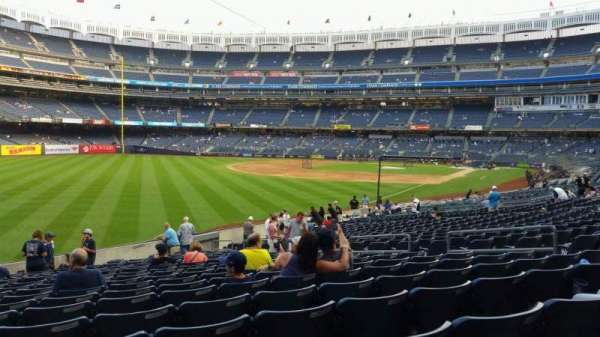 Yankee Stadium, section: 131, row: 19, seat: 12