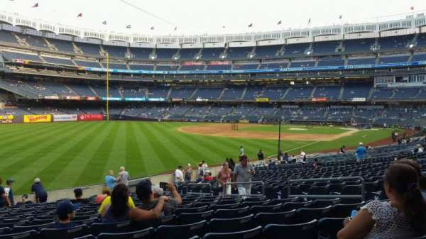 Yankee Stadium, section: 131, row: 19, seat: 9