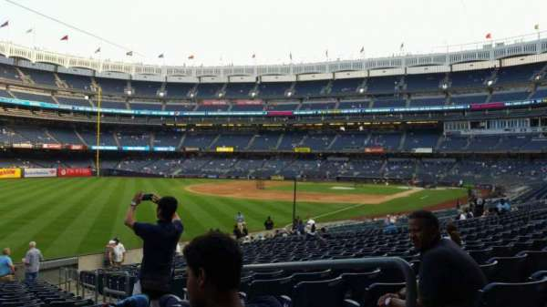Yankee Stadium, section: 131, row: 19, seat: 3
