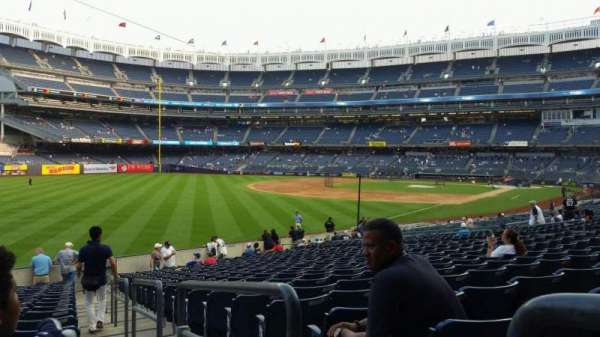 Yankee Stadium, section: 131, row: 19, seat: 1