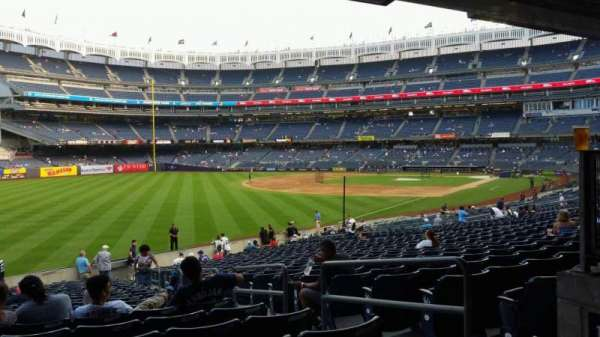 Yankee Stadium, section: 131, row: 23, seat: 4