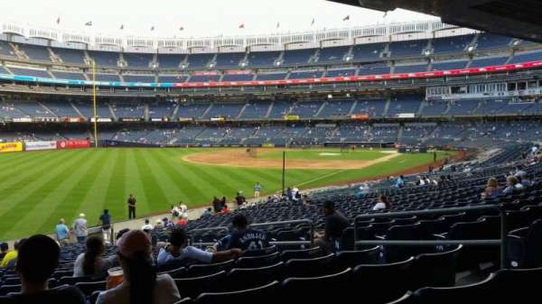 Yankee Stadium, section: 131, row: 23, seat: 7