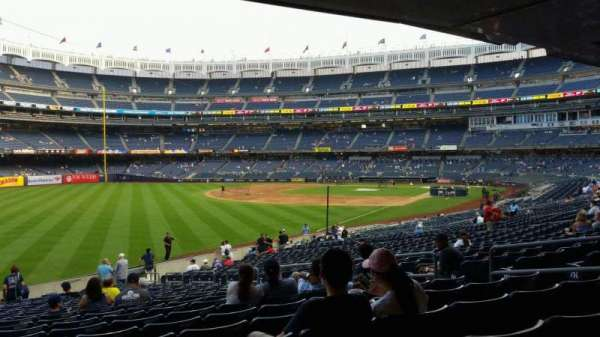 Yankee Stadium, section: 131, row: 23, seat: 10