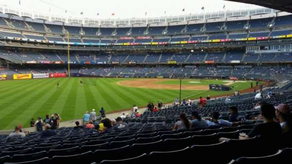 Yankee Stadium, section: 131, row: 23, seat: 13