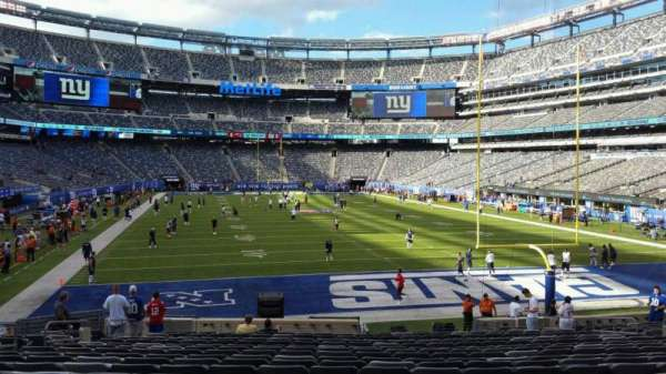 MetLife Stadium, section: 128, row: 21, seat: 18