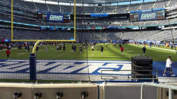 MetLife Stadium, section: 126, row: 4, seat: 1