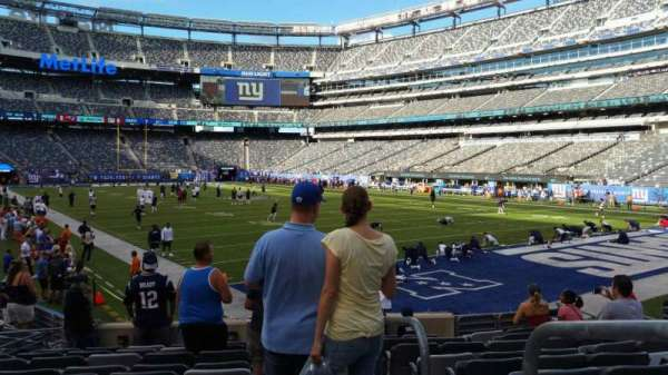 MetLife Stadium, section: 131, row: 12, seat: 1