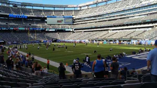 MetLife Stadium, section: 131, row: 12, seat: 6