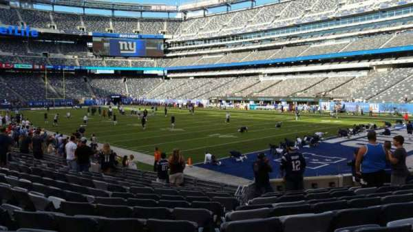 MetLife Stadium, section: 131, row: 12, seat: 13