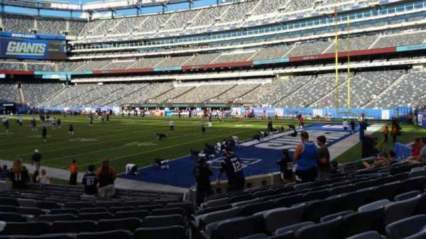 MetLife Stadium, section: 131, row: 12, seat: 14