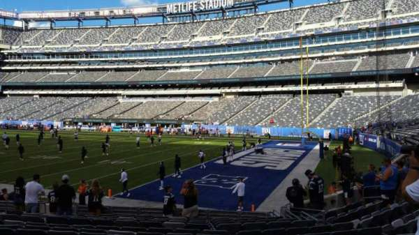MetLife Stadium, section: 133, row: 13, seat: 5