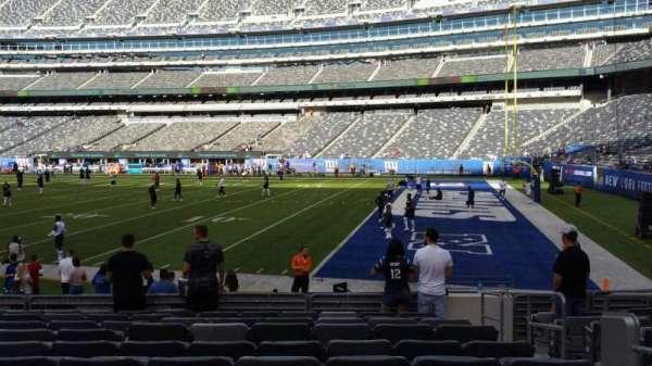 MetLife Stadium, section: 134, row: 10, seat: 1