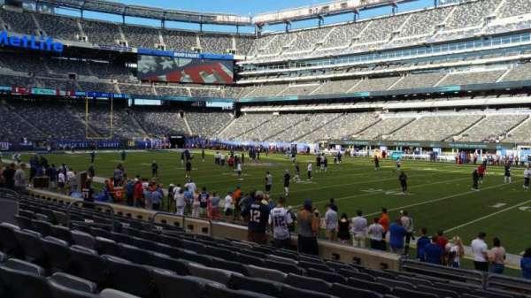 MetLife Stadium, section: 134, row: 10, seat: 11