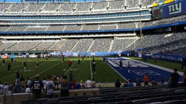 MetLife Stadium, section: 134, row: 10, seat: 21