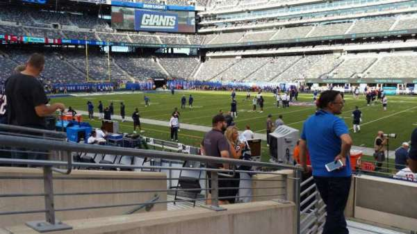 MetLife Stadium, section: 135, row: 8, seat: 28