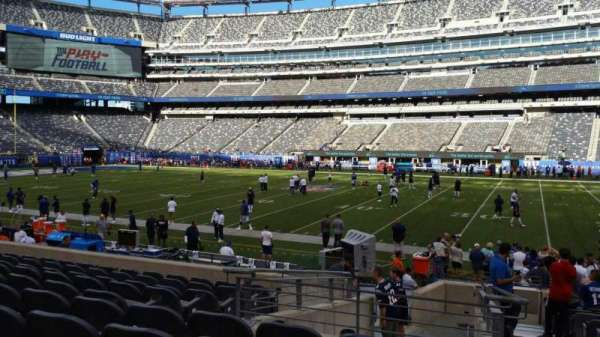 MetLife Stadium, section: 137, row: 15, seat: 1