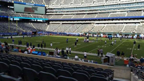MetLife Stadium, section: 137, row: 15, seat: 6