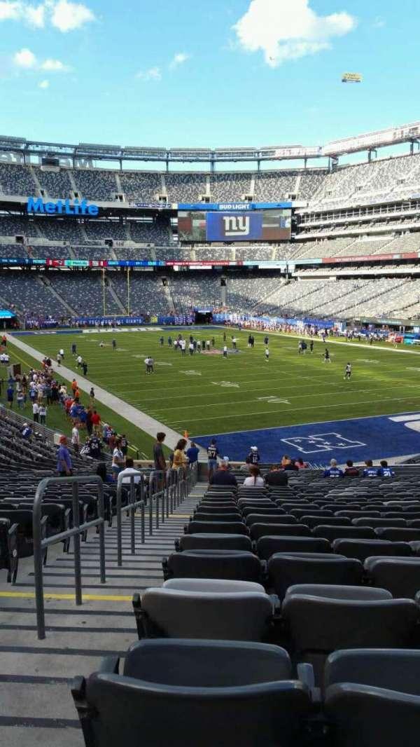 MetLife Stadium, section: 129, row: 31, seat: 31
