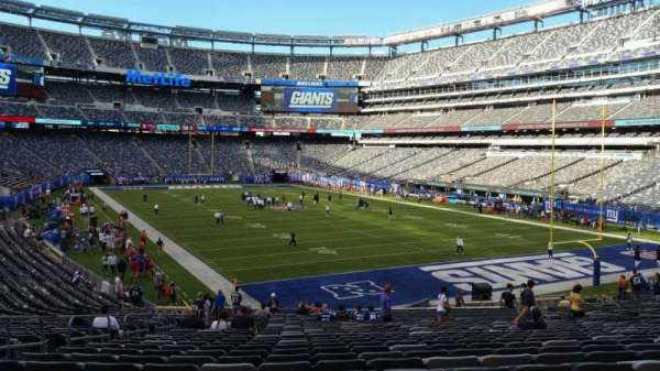 MetLife Stadium, section: 129, row: 31, seat: 26