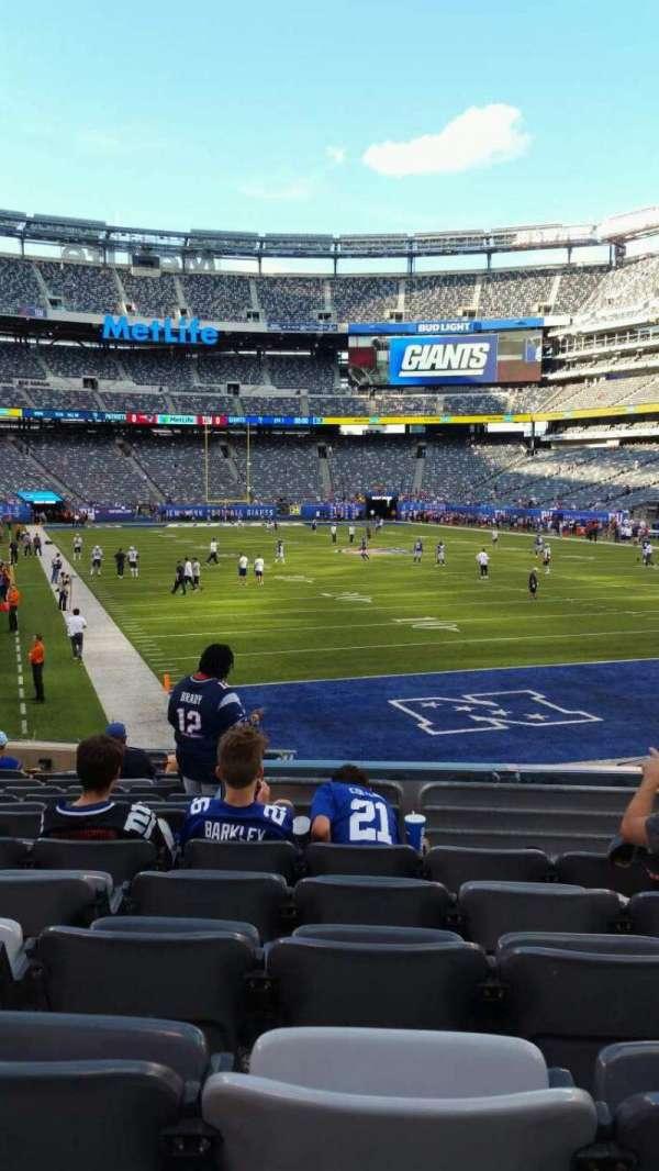 MetLife Stadium, section: 129, row: 15, seat: 15