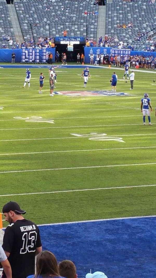 MetLife Stadium, section: 129, row: 15, seat: 24