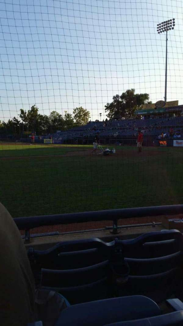 Arm & Hammer Park, section: 116, row: A, seat: 10