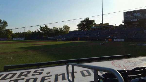 Arm & Hammer Park, section: 118, row: F, seat: 1