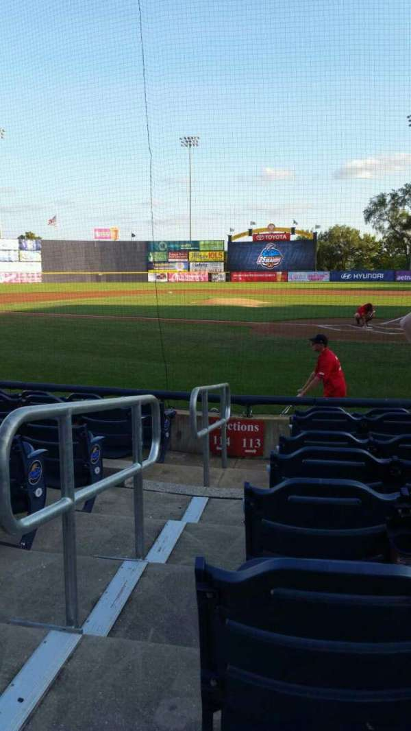Arm & Hammer Park, section: 113, row: F, seat: 10