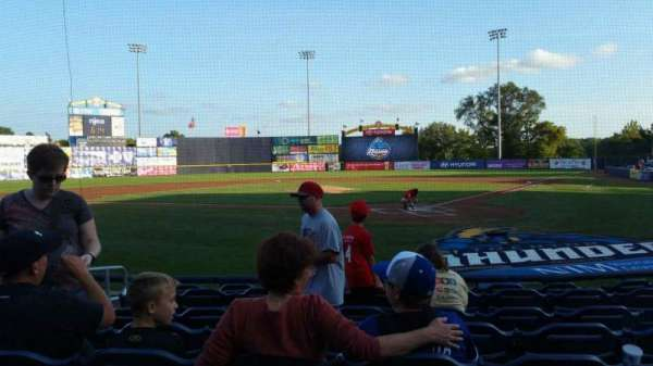 Arm & Hammer Park, section: 113, row: F, seat: 5