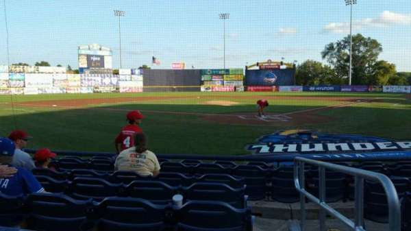 Arm & Hammer Park, section: 113, row: F, seat: 1