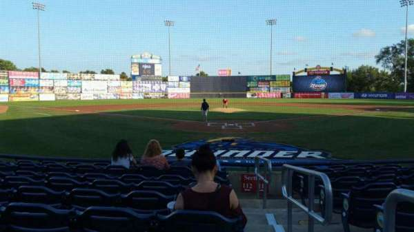 Arm & Hammer Park, section: 112, row: G, seat: 1