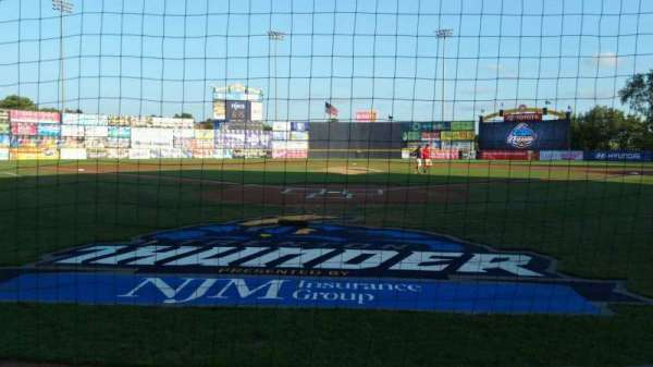 Arm & Hammer Park, section: 111, row: BB, seat: 1