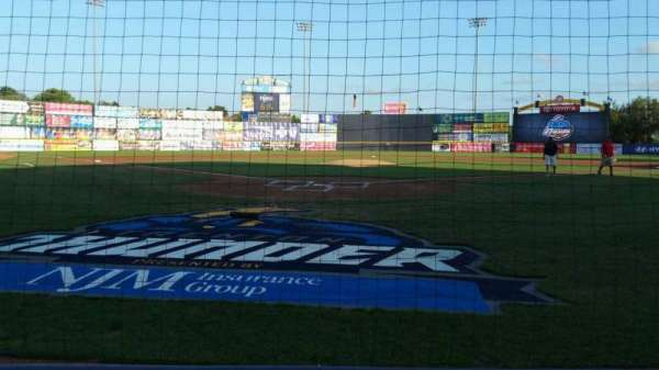 Arm & Hammer Park, section: 111, row: BB, seat: 4
