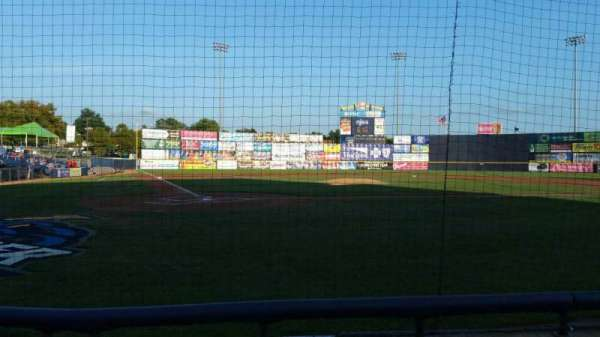 Arm & Hammer Park, section: 109, row: A, seat: 1