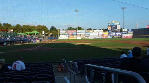 Arm & Hammer Park, section: 108, row: H, seat: 11