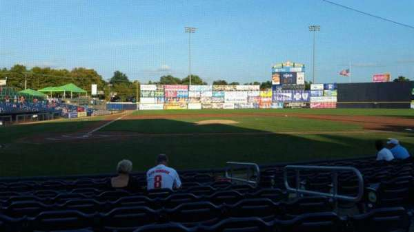 Arm & Hammer Park, section: 108, row: H, seat: 7