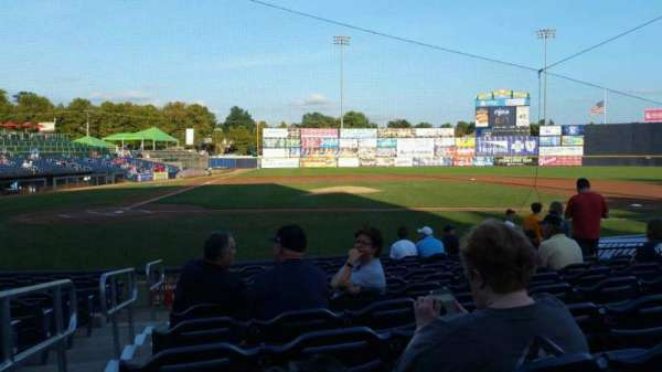 Arm & Hammer Park, section: 107, row: K, seat: 1