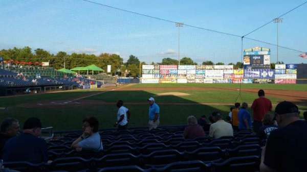 Arm & Hammer Park, section: 107, row: K, seat: 4