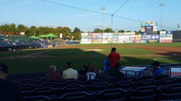 Arm & Hammer Park, section: 107, row: K, seat: 8