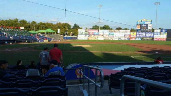 Arm & Hammer Park, section: 107, row: K, seat: 14