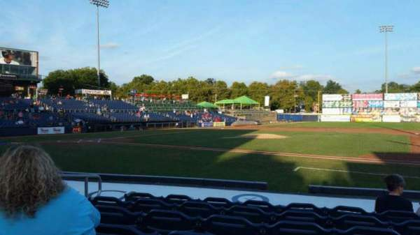 Arm & Hammer Park, section: 105, row: J, seat: 5