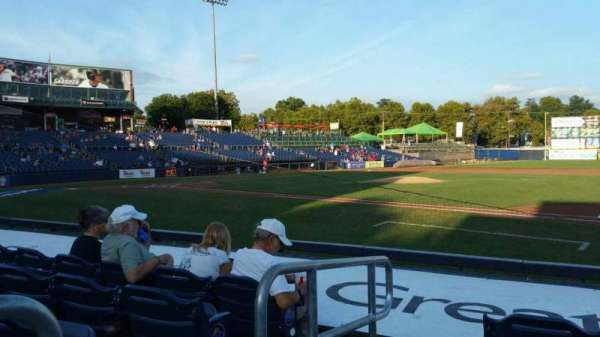 Arm & Hammer Park, section: 104, row: G, seat: 1