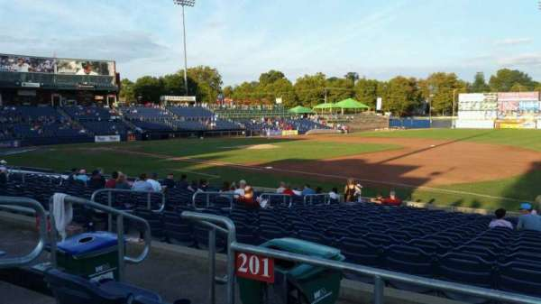 Arm & Hammer Park, section: 201, row: N, seat: 4