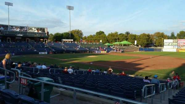 Arm & Hammer Park, section: 201, row: N, seat: 8