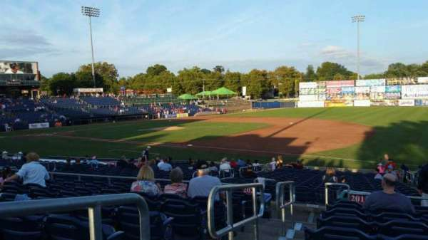 Arm & Hammer Park, section: 201, row: T, seat: 1